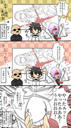 Fate/Goの公式生放送でノッブがやらかしたアレの漫画その2