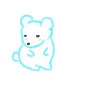白くまクレヨン01