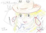 【金澤佳雅 イラスト】 洩矢諏訪子 お気に入りのイラスト模写