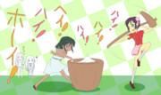 餅つきマスターシンデレラガールズ ~海の向こう側で!~