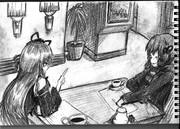 2B鉛筆で、結月ゆかり描いてみた【その23】+琴葉茜