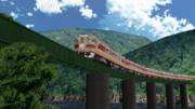 【MMD鉄道】80系気動車特急「ひだ」