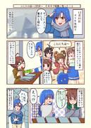 C89冬コミレポ漫画 その2