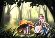 暇を持て余した森での遊び