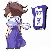 加賀さん(長い袴版)