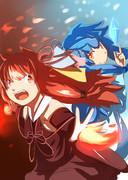 闘う琴葉姉妹