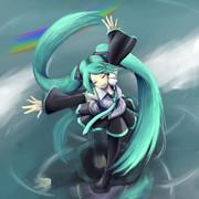 修行中-水上の歌姫描いてみた