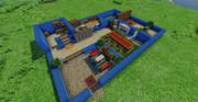 【Minecraft】クロスベル・特務支援課作ってみた【英雄伝説碧の軌跡】
