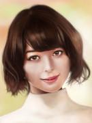 玉城ティナさんを描いてみた(2015)