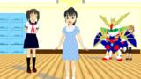 【MMDモデル配布】福山舞。あと今井加奈更新