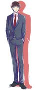 15話のスーツが