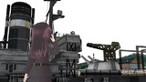 三日月と旧式戦艦