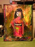 古い日本人形