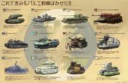 これが惑星パルエの超重戦車たちだッ!!