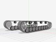 【MMD陸軍】 Ⅳ号戦車 自動回転履帯