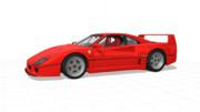 【MMD】Ferrari F40【モデル配布】