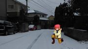 雪遊び霧野くん