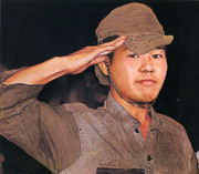 田所少尉 笑顔で帰還
