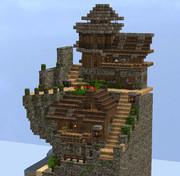 【Minecraft】1チャンク建築