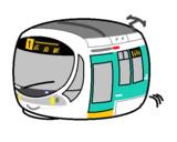 広島電鉄5100形 Green mover max