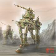自由惑星連邦系外惑星派遣軍陸戦型MS「フォーフッド」