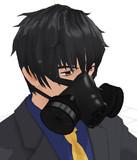 ガスマスク【MMDアクセサリ配布あり】