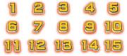 オールスター感謝祭「Period1~15」数字