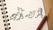 【MMD】鳥獣戯画描いてみたとは言ってない