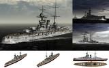 MMD用モブ高速戦艦1915セット