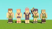 学園生活部[Tobui Rig2.5](Minecraft Animations)