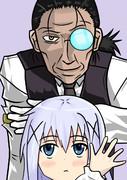 チノとおじいちゃん
