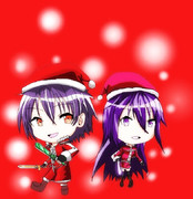 一応ムツラキリトと、一応ムツラキリコのクリスマス