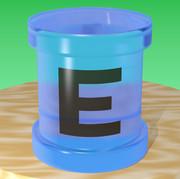ガラスのエネルギー缶