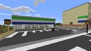 【Minecraft】ファミリーマート 【地方空港とまち】