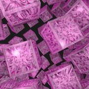 宝石キューブ34