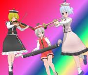 プリズムリバー三姉妹Ver1.00(モデル配布)