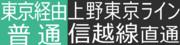 上野東京ライン 横川行