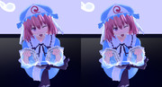 【MMD】飛び出す幽々子様1