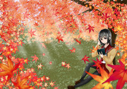紅葉の秋!読書の秋ヾ(*´∀`*)ノ