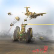 航空侵攻型MS「タイナッカー・ドラム」