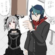 黒咲隼の次元訪問記
