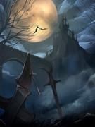 ワンドロー「吸血鬼の住処」