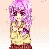 たくあん+ピンク髪