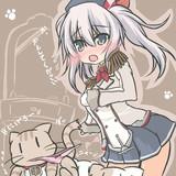 ぬこは、鹿島の装備品を盗むことに成功した!