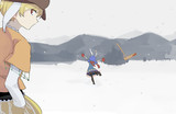 幻想郷の雪