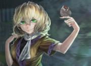 橋姫と一羽の雀