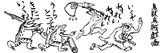 鳥獣烏賊戯画