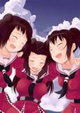 仲良し三姉妹
