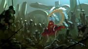 神さびた古戦場