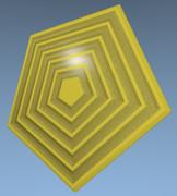 五角形コースター35